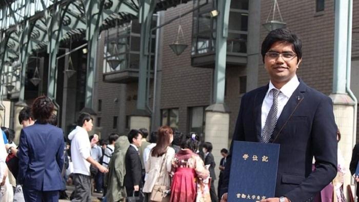 জাপানের 'বেস্ট পেপার অ্যাওয়ার্ড' পেলেন হাবিপ্রবি অধ্যাপক