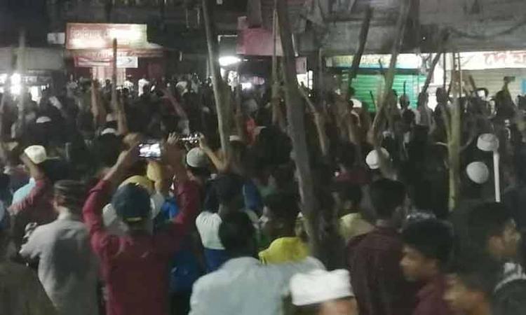 ছাতক থানায় হেফাজতের হামলা : ৫০০ জনের বিরুদ্ধে মামলা