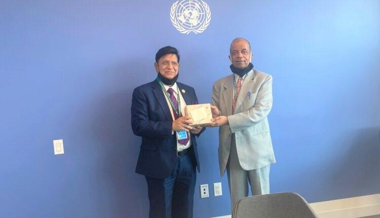 জাতিসংঘে বাংলাদেশ স্থায়ী মিশনে 'বঙ্গবন্ধু লাউঞ্জ'-এর আনুষ্ঠানিক উদ্বোধন করলেন পররাষ্ট্রমন্ত্রী
