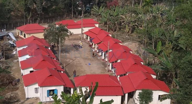 কমলগঞ্জে গৃহহীন আরও ১৫২ পরিবার পাচ্ছে নতুন ঘর