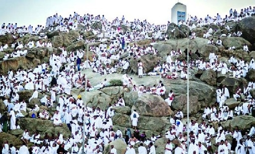 লাব্বাইক ধ্বনিতে মুখর আরাফাত ময়দান